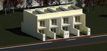 Casas - Residencial s. Antonio - Casa Geminada