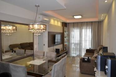 Apartamento mobiliado tr�s quartos com suite � venda, Fazenda, Itaja�.